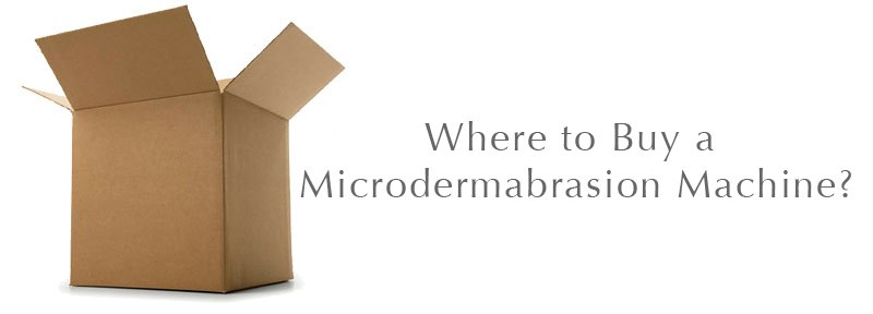 Where to buy a microdermabrasion machine